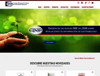 cinif.org.mx screenshot