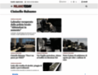 cinisello-balsamo.milanotoday.it screenshot
