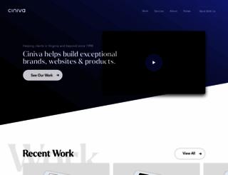 ciniva.com screenshot