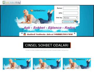 cinselsohbet.beyzamfm.com screenshot