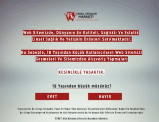 cinselurunlermarketi.com screenshot