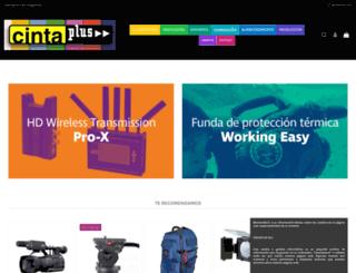cintaplus.com screenshot
