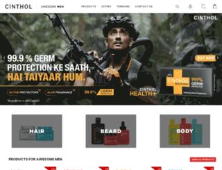 cinthol.com screenshot