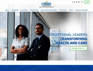 cio-chime.org screenshot