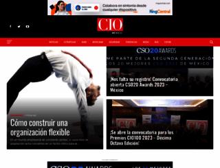 cio.com.mx screenshot
