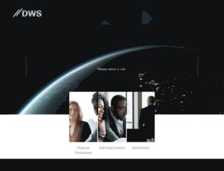 cioview.deutscheawm.com screenshot