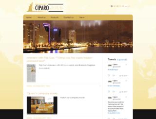 ciparo.nl screenshot