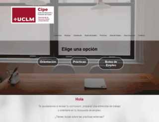 cipe.uclm.es screenshot