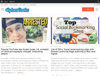 cipherfacts.com screenshot