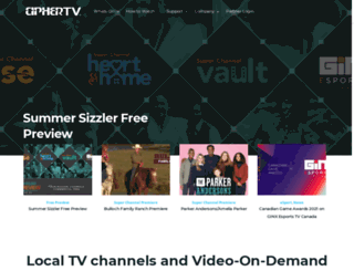 ciphertv.com screenshot
