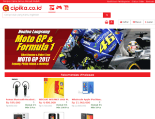 cipika.co.id screenshot