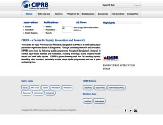 ciprb.org screenshot
