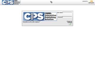 cips.creelprint.com screenshot