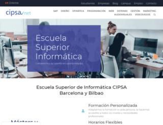 cipsa.net screenshot