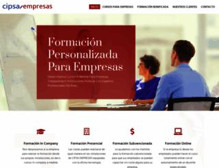 cipsaempresas.net screenshot