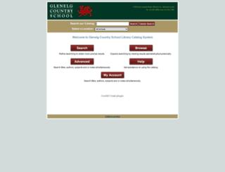 circ.glenelg.org screenshot