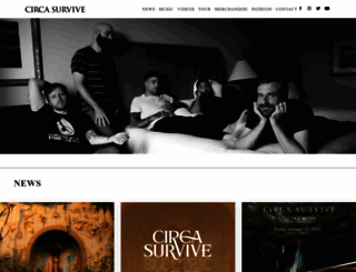 circasurvive.com screenshot