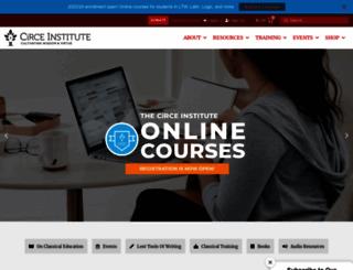 circeinstitute.org screenshot