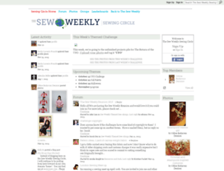 circle.sewweekly.com screenshot