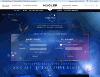 circle.thierrymugler.net screenshot