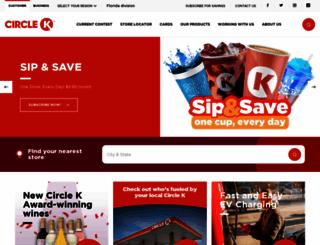 circlekflorida.com screenshot