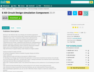 circuit-design-simulation-component.soft112.com screenshot