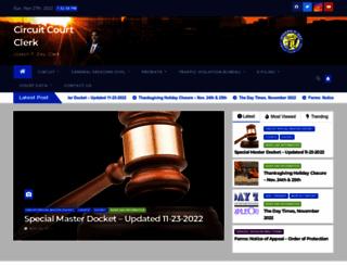 circuitclerk.nashville.gov screenshot