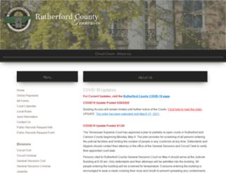 circuitcourtclerk.rutherfordcountytn.gov screenshot