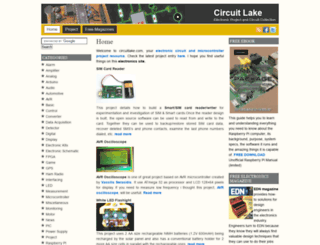 circuitlake.com screenshot