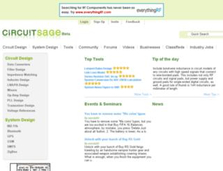 circuitsage.com screenshot