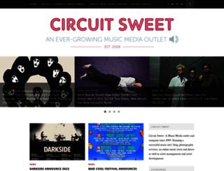 circuitsweet.co.uk screenshot