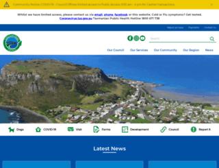 circularhead.tas.gov.au screenshot