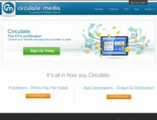 circulatemedia.com screenshot
