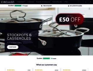 circulon.uk.com screenshot