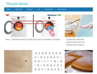 circulosocial.net screenshot