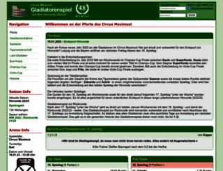 circus-maximus.de screenshot