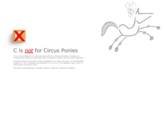 circusponies.xyz screenshot