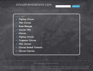 circustranslations.com screenshot