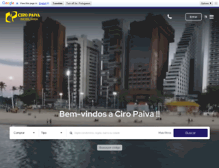 ciropaivaimoveis.com.br screenshot