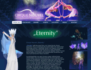 cirque-nouvel.at screenshot