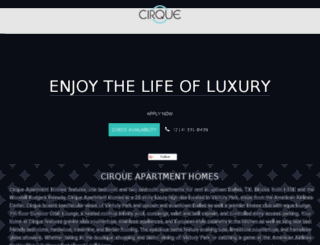 cirquevictorypark.com screenshot