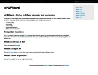cirqwizard.org screenshot