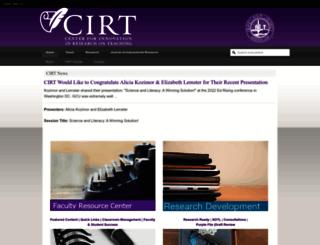 cirt.gcu.edu screenshot
