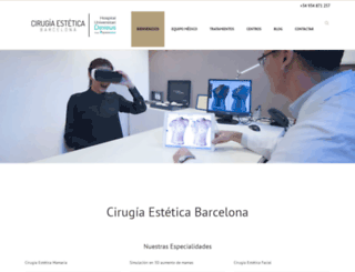 cirugiaesteticabarcelona.es screenshot