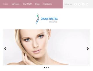 cirugiaplasticaintegral.mx screenshot