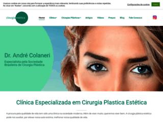 cirurgiaestetica.com.br screenshot