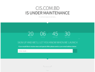 cis.com.bd screenshot
