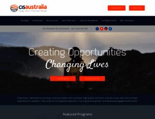 cisaustralia.com.au screenshot