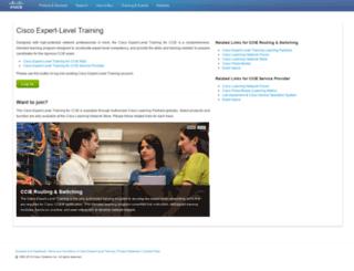 cisco360.cisco.com screenshot