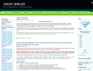 ciscobibles.com screenshot